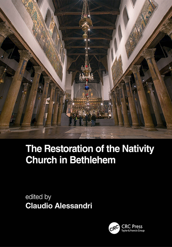 The Restoration of the Nativity Church in Bethlehem book cover