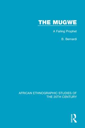 The Mugwe: A Failing Prophet, 1st Edition (Hardback) book cover