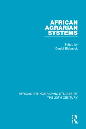 African Agrarian Systems: 1st Edition (Hardback) book cover
