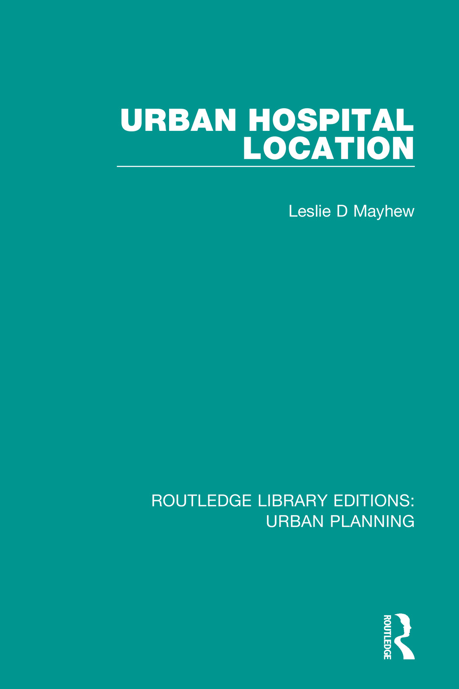 Urban Hospital Location book cover