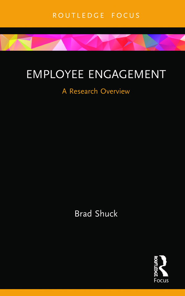 Employee Engagement: A Research Overview book cover