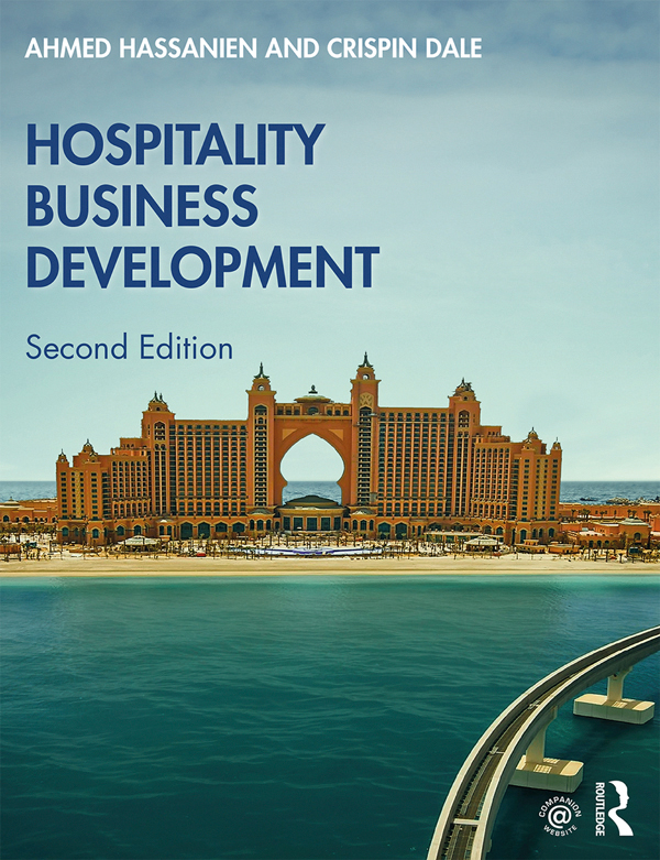 Hospitality Business Development book cover