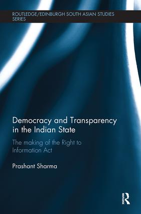 Democracy and Transparency in the Indian State