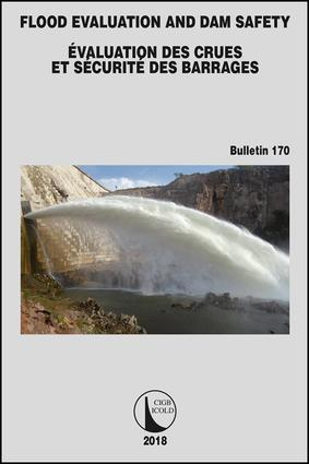 Flood Evaluation and Dam Safety: 1st Edition (Paperback) book cover