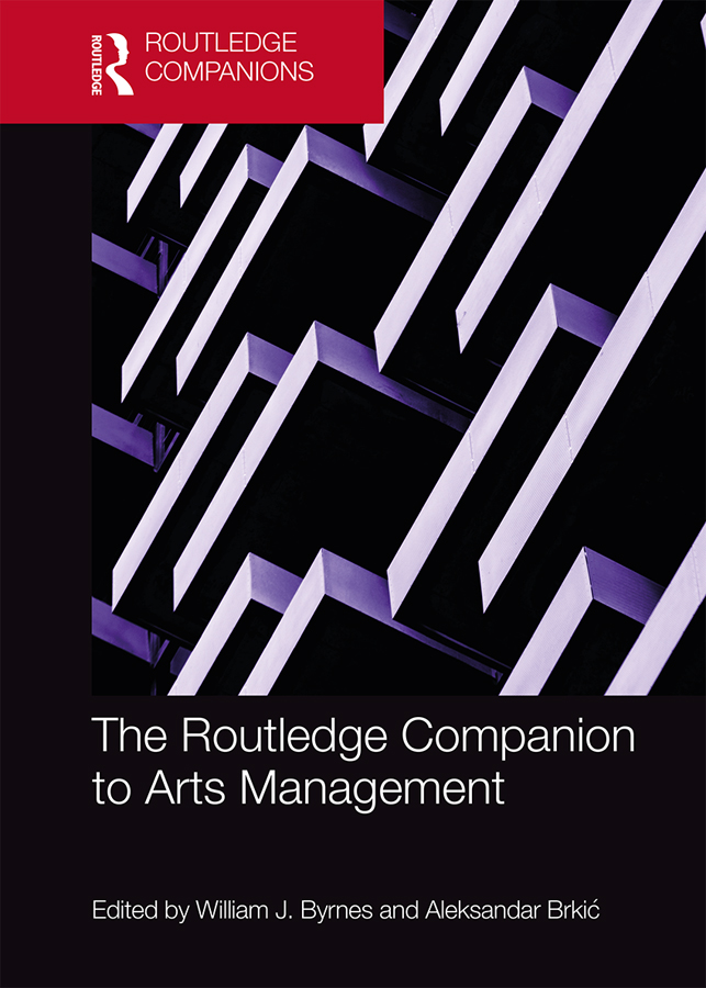 The Routledge Companion to Arts Management book cover