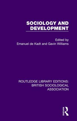 Sociology and Development book cover
