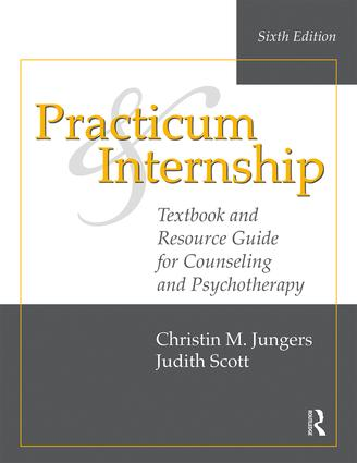 Practicum and Internship: Textbook and Resource Guide for Counseling and Psychotherapy book cover