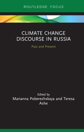 Climate Change Discourse in Russia: Past and Present book cover