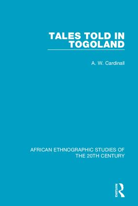 Tales Told in Togoland: 1st Edition (Hardback) book cover