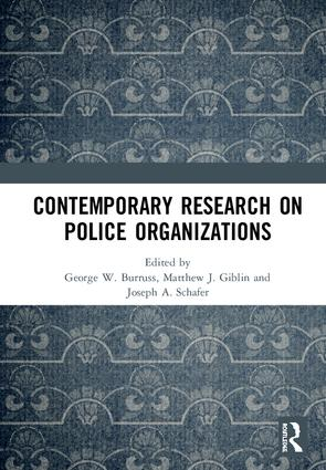 Contemporary Research on Police Organizations book cover