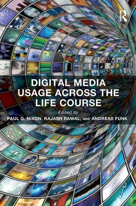 Digital Media Usage Across the Life Course: 1st Edition (Paperback) book cover