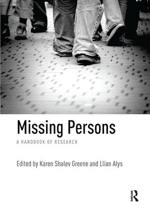 Missing Persons: A handbook of research, 1st Edition (Paperback) book cover