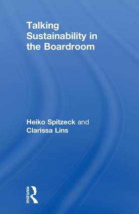 Talking Sustainability in the Boardroom book cover