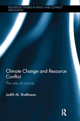 Climate Change and Resource Conflict: The Role of Scarcity book cover