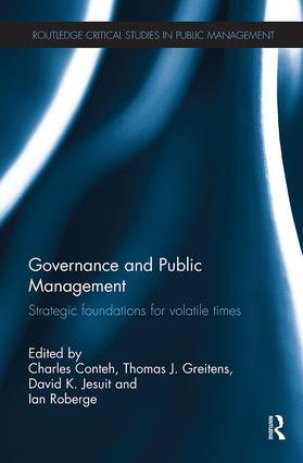 Governance and Public Management: Strategic Foundations for Volatile Times, 1st Edition (Paperback) book cover