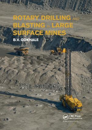 Rotary Drilling and Blasting in Large Surface Mines: 1st Edition (Paperback) book cover