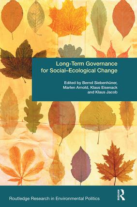Long-Term Governance for Social-Ecological Change: 1st Edition (Paperback) book cover