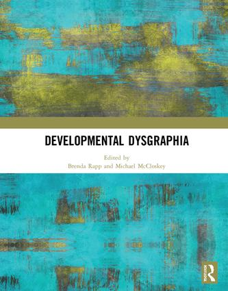 Developmental Dysgraphia book cover