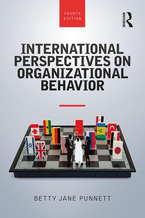 International Perspectives on Organizational Behavior: 4th Edition (Paperback) book cover