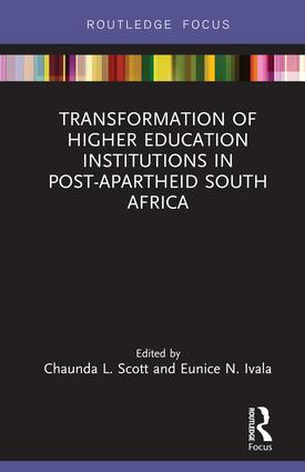 Transformation of Higher Education Institutions in Post-Apartheid South Africa: 1st Edition (Hardback) book cover