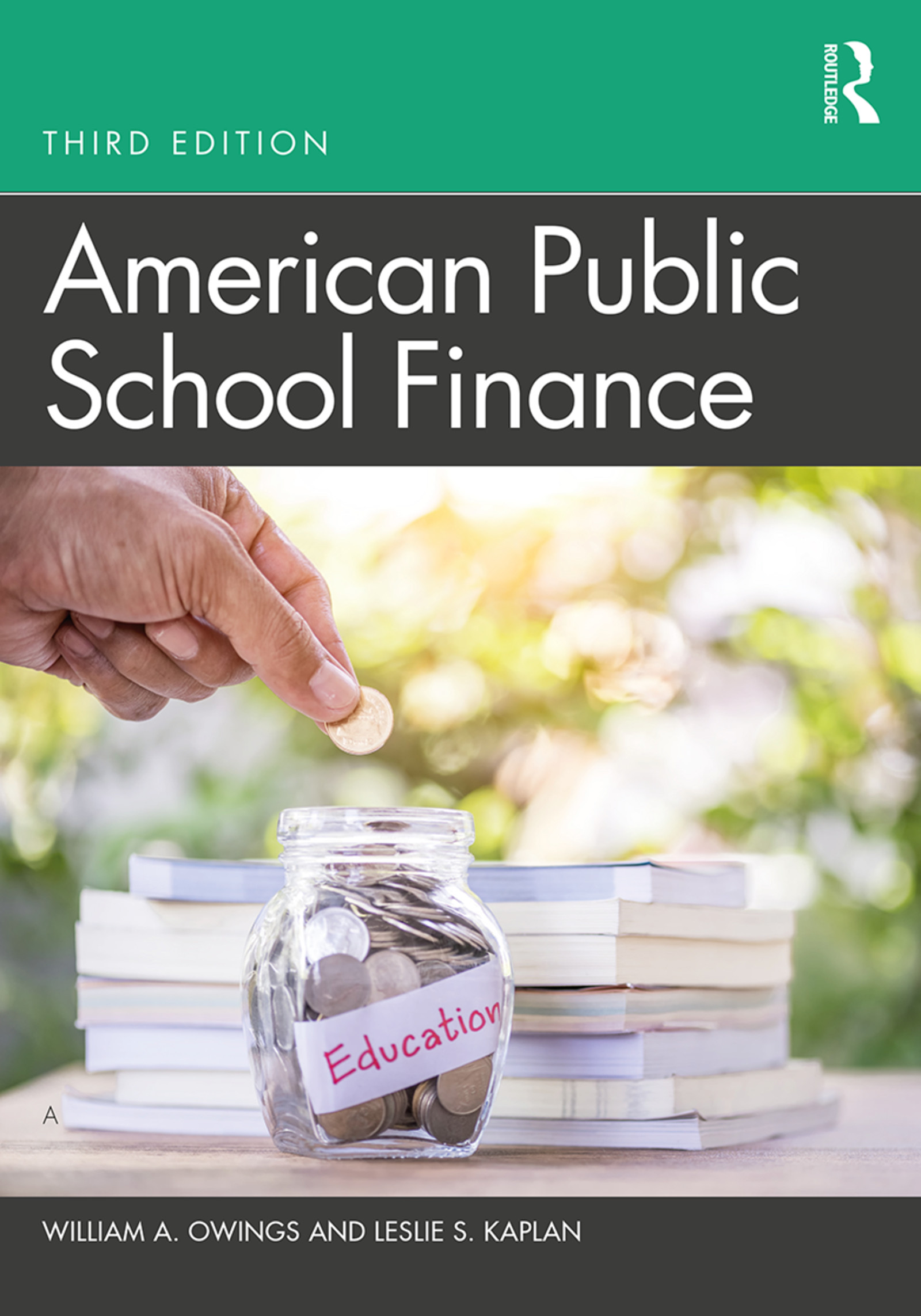 American Public School Finance book cover