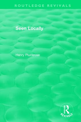 Seen Locally (Hardback) book cover