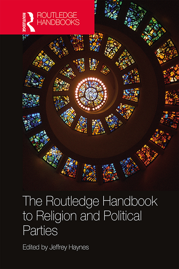 The Routledge Handbook to Religion and Political Parties book cover