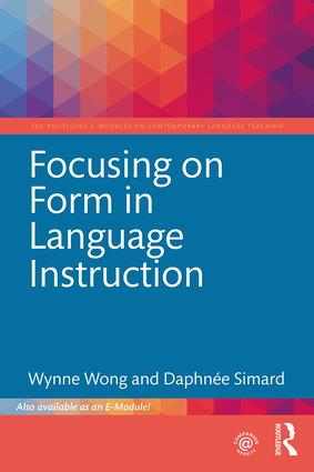 Focusing on Form in Language Instruction book cover