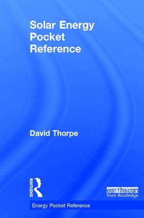 Solar Energy Pocket Reference: 1st Edition (Hardback) book cover