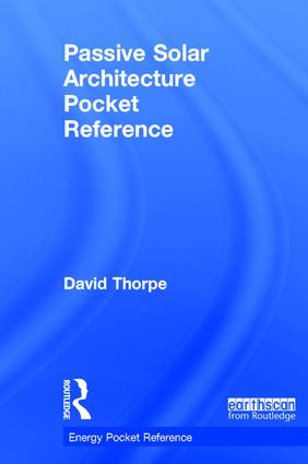 Passive Solar Architecture Pocket Reference: 2nd Edition (Hardback) book cover
