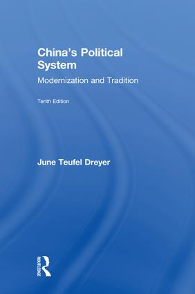 China's Political System: Modernization and Tradition, 10th Edition (Hardback) book cover