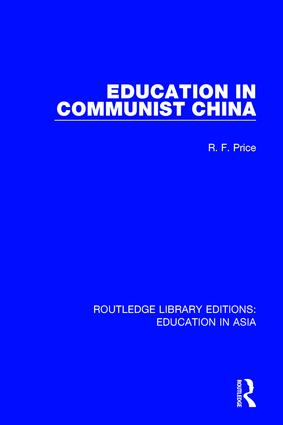 Education in Communist China book cover