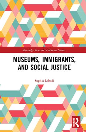 Museums, Immigrants, and Social Justice (Hardback) book cover