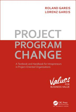 Project. Program. Change: 1st Edition (Hardback) book cover