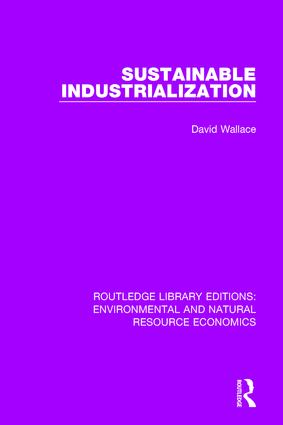 Sustainable Industrialization book cover