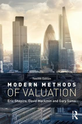 Modern Methods of Valuation book cover