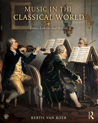 Music in the Classical World: Genre, Culture, and History, 1st Edition (Paperback) book cover