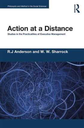 Action at a Distance: Studies in the Practicalities of Executive Management book cover