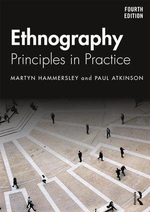 Ethnography: Principles in Practice book cover
