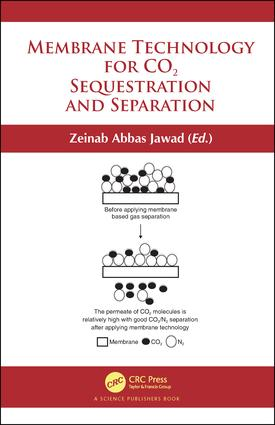 Membrane Technology for CO2 Sequestration book cover