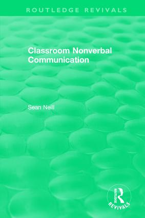 Classroom Nonverbal Communication book cover