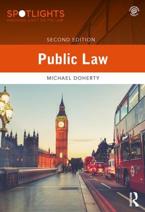 Public Law book cover