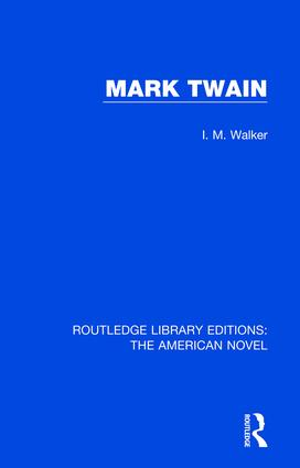 Mark Twain book cover