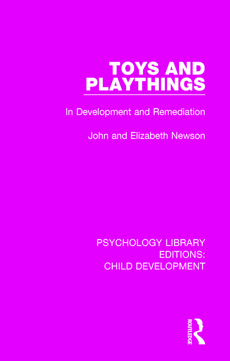 Toys and Playthings: In Development and Remediation book cover