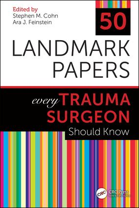 50 Landmark Papers every Trauma Surgeon Should Know book cover