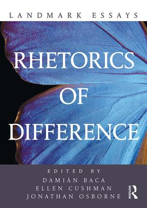 Landmark Essays on Rhetorics of Difference book cover