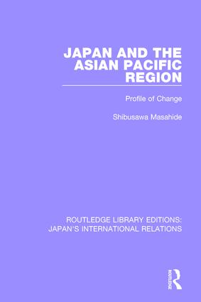 Japan and the Asian Pacific Region: Profile of Change book cover