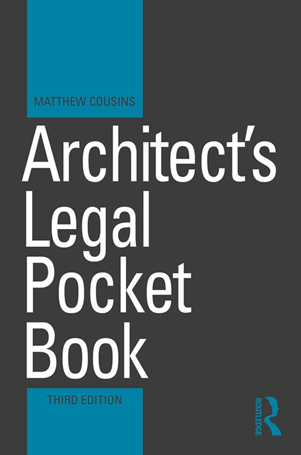 Architect's Legal Pocket Book book cover