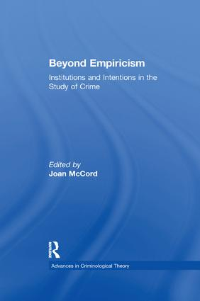 Beyond Empiricism