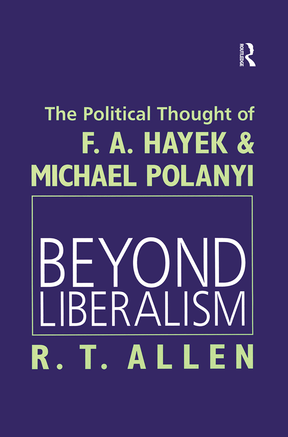 Beyond Liberalism: 1st Edition (Paperback) book cover